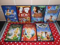X7 DISNEY DVDS £10 FOR ALL