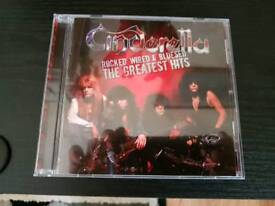 CINDERELLA. ROCKED WIRED AND BLUESED.GREATEST.GREATEST HITS CD NEW