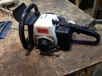 stihl petrol hedge trimmer spares or repair
