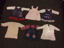 Girls clothes 3-6 months 75 items