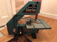 "12""Clarke Bench Bandsaw"