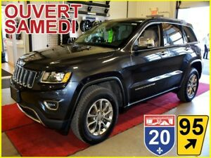2016 Jeep Grand Cherokee LIMITED * AWD * GPS * HITCH 6200LBS * T