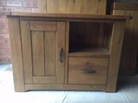 Dunelm 'Loxley' Pine TV Console Cabinet