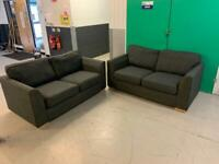 FREE DELIVERY 2 x 2 seater sofas