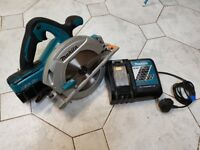 Makita FFX DHS710/5 36v 190mm Circular Saw 2 x 4.0Ah Li-ion