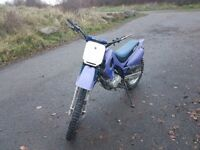Jianshee 150cc good clean reliable bike runs and rides mint. Bought for the bairn but to big