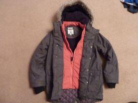 John Rocha Boys Winter Jacket Aged 9/10 yrs