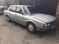 Bmw e28 5 series 518i silver breaking for spares