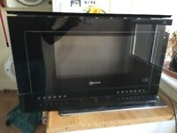 Integrated Neff Microwave Oven (for parts only, not working)