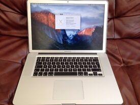 """MacBook Pro 2.6GHz, 15"""", 16GB (2x8GB) memory, Core i7, 500GB SSD + 500GB HD"""