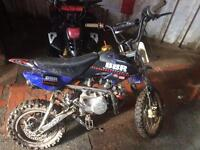 M2R110 pitbike made2race
