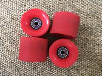 Genuine set of Penny skateboard cruiser wheels and bearings