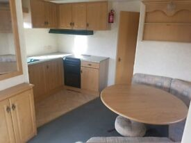 Pre loved holiday home on stunning park, Merryfield Leisure Coastfields near the beach inc 2018 fees