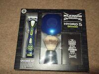wilkinson sword hydro 5 razor groomer boxset,