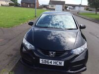 Honda Civic Black Edition Sport 1.8L For Sale - Only 2 Owners from New