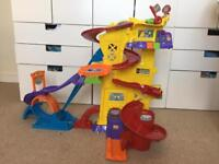 Toot toot super tracks tower bundle cars track may