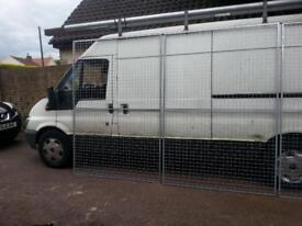 galvanised steel mesh.