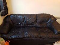Good condotion leather sofas