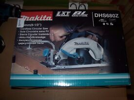 "MAKITA CORDLESS CIRCULAR SAW ""NEW"""