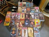 30 films - VHS tapes