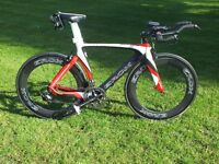 Erox Team Special Edition time trial / triathlon bike Medium Full carbon including carbon Wheels