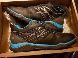 North face hedgehog trainers.new out
