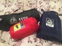 Avon eurohike tent air bed sleeping beds