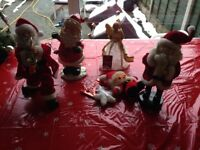 Christmas Angel & Santas etc Lot.01 For The Best & Merriest Christmas Ever