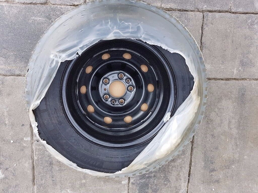 """15"""" brand new motorhome spare wheel and tyre for 2007 to 2017 Fiat Ducato"""