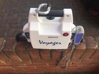 Oxford easy track fs gantry and voyager portable hoist