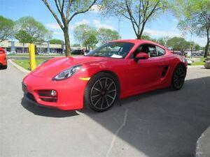 2014 Porsche Cayman *GUARDS RED*PORSCHE EXTENDED WARRANTY!