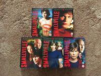 Smallville DVD Series 1-5