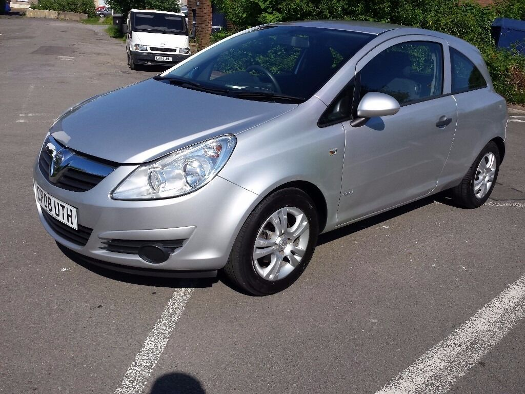 2008 vauxhall corsa 1.0 breeze only 41000m ideal first car £200 off now £2495 part exchange welcome