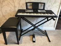 Yamaha PSR-E233 Full-size keyboard with Ultra Wide Stereo sound