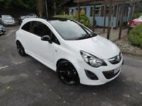 Vauxhall Corsa LIMITED EDITION (white) 2013-07-31