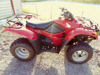 For Sale - Honda Fourtrax 420ES 4x4 Road Registered ATV Quad Bike