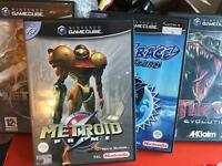 Nintendo gamecube + games