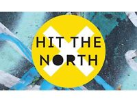 Hit the North Festival Tickets x2 Newcastle 28th April