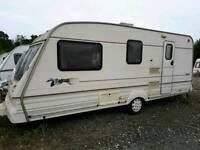 1999 Bailey Pageant Moselle 4 birth caravan