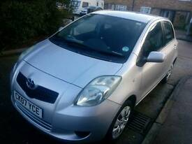 2007 TOYOTA YARIS 1.0CC MANUAL HPI CLEAR