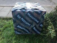 Full pack of bradstone block paving still wrapped