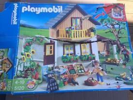 Playmobil farmhouse and farm shop