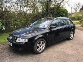 Audi A4 estate 53 plate black 2.0 petrol FSi