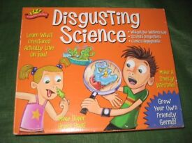 Scientific Explorer Disgusting Science Activity Learning Set for 8 Years and Older
