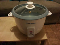 Cookworks Rice Cooker 1.5 Litre (Free Collection From London-Isle of Dogs-Postcode E14)