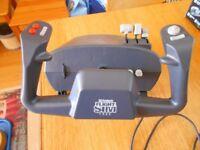 CH Flight Sim Yoke & CH Pro Pedals for Flight Sims.
