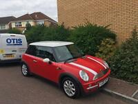 Mini cooper 1.6l red *BARGAIN*