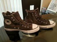 BRAND NEW Ladies Chuck Taylor ALL STAR Converse Lace-Up Hi Tops UK 6.5