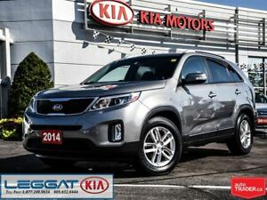 2014 Kia Sorento LX- LOW KM, HEATED SEATS, BLUETOOTH