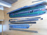 Angling equipment job lot